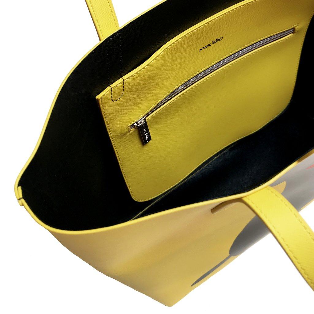マークテトロ ダックスフント トートバッグ 【Marc Tetro】 DACHSHUND Tote Bag