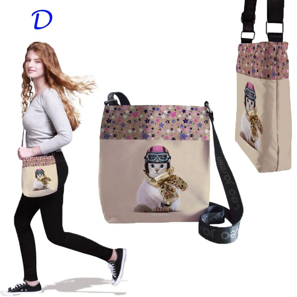 テオジャスマン サコッシュ 斜めがけバッグ Crossbody bag Jasmine 猫柄