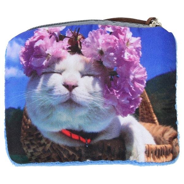 猫 アンティーク調マルチトレー Tabby  選べるネコのポーチ付き