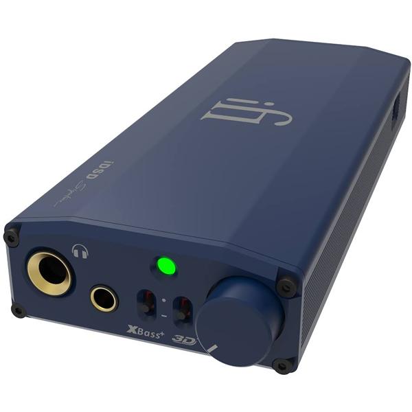 iFi-Audio micro iDSD Signature バッテリー内蔵PCM768/DSD512対応USB-DAC/ヘッドフォンアンプ アイファイオーディオ