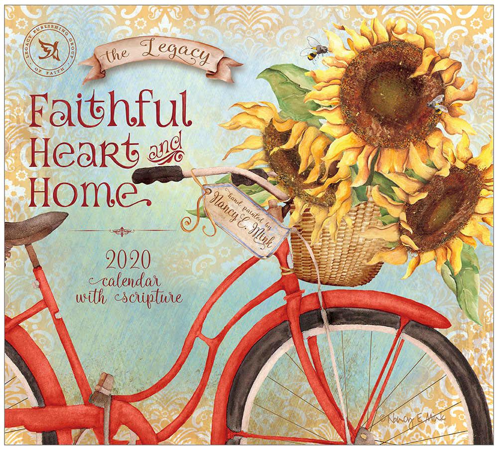 2020 FAITHFUL HEART AND HOME ウォールカレンダー