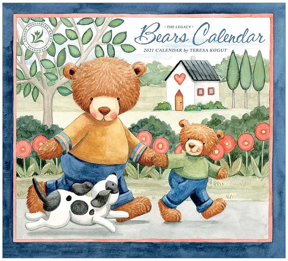 2021 BEARS CALENDAR ウォールカレンダー