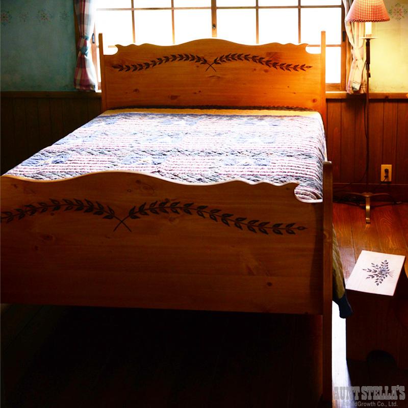 Semi Double Sleigh Bed セミダブルスレイベッド