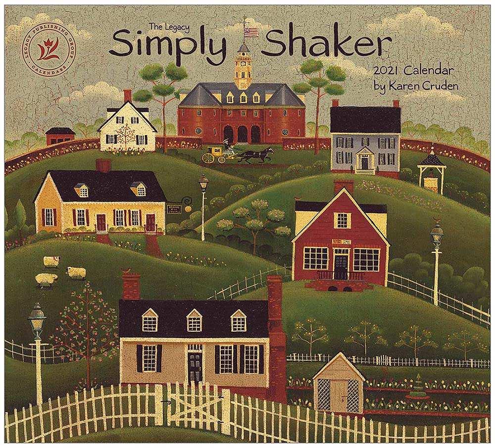 2021 SIMPLY SHAKER ウォールカレンダー