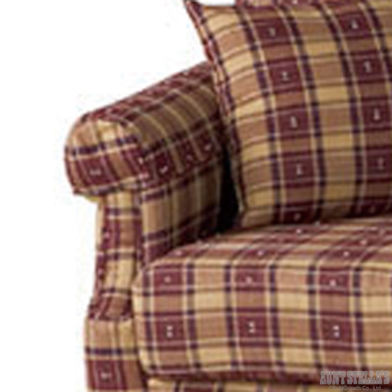 Sofa 3 Seater/Burgundy ソファ(3人掛け/バーガンディ)