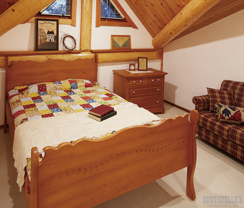 Double Sleigh Bed ダブルスレイベッド