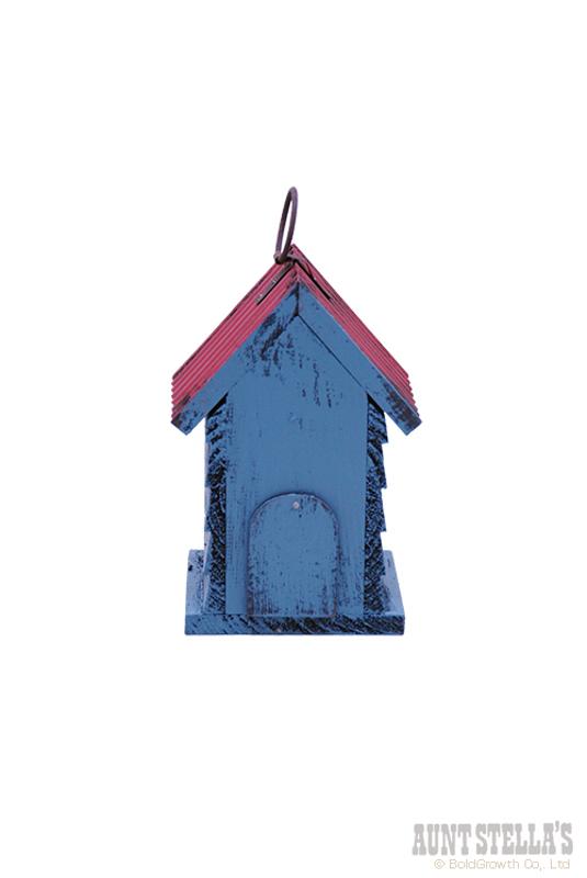 ヴィンテージバードハウス(ブルー)