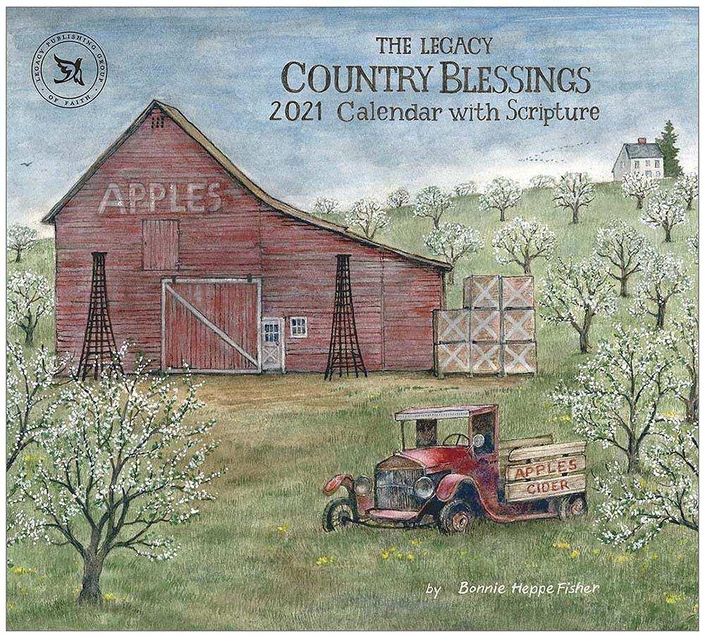 2021 COUNTRY BLESSINGS ウォールカレンダー