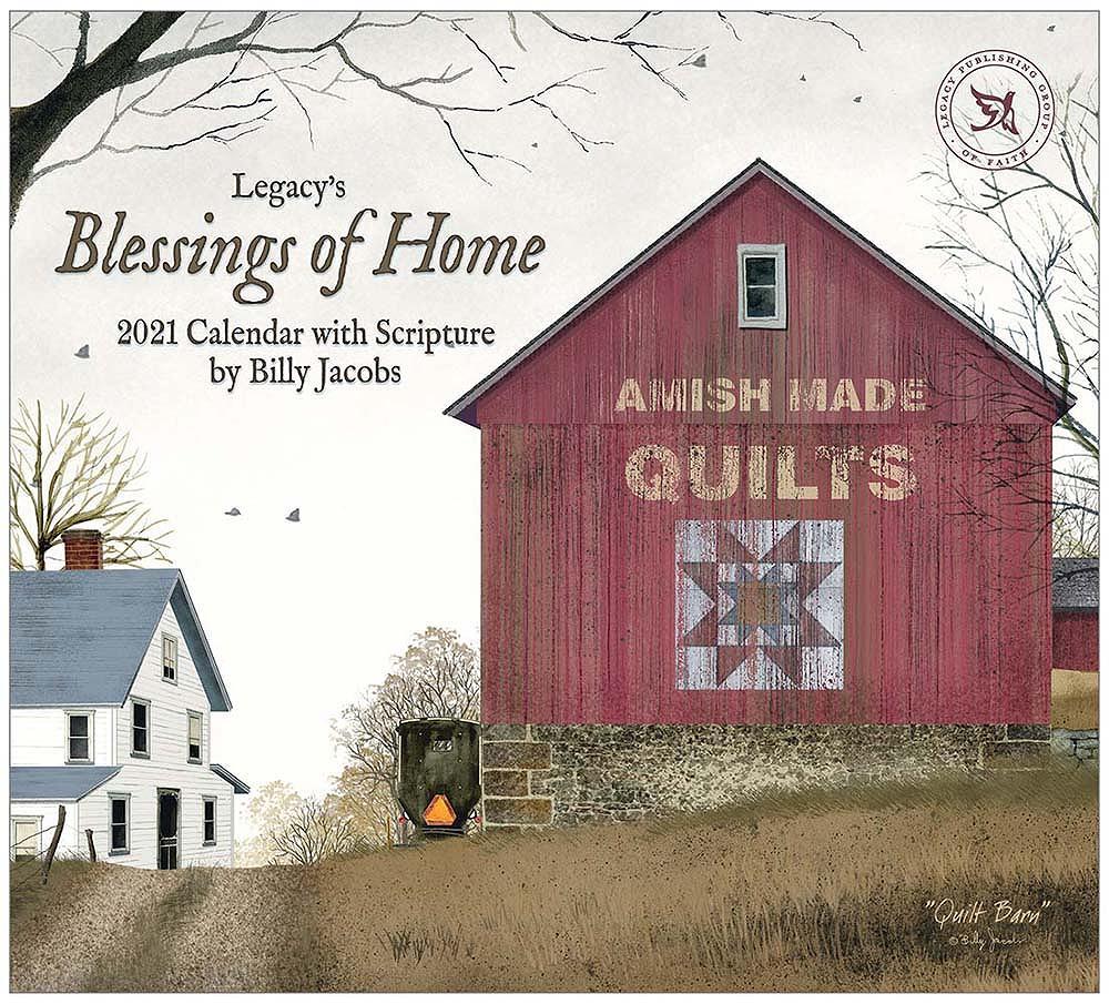 2021 BLESSINGS OF HOME ウォールカレンダー
