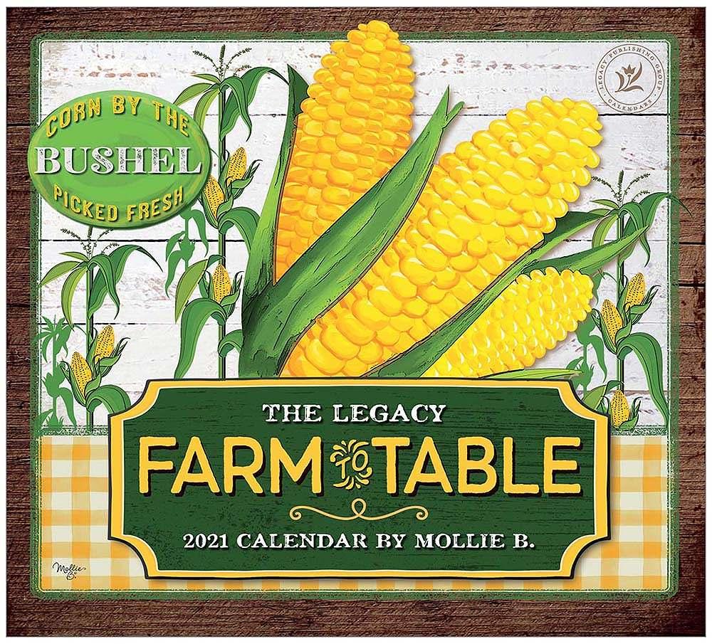 2021 FARM TO TABLE ウォールカレンダー