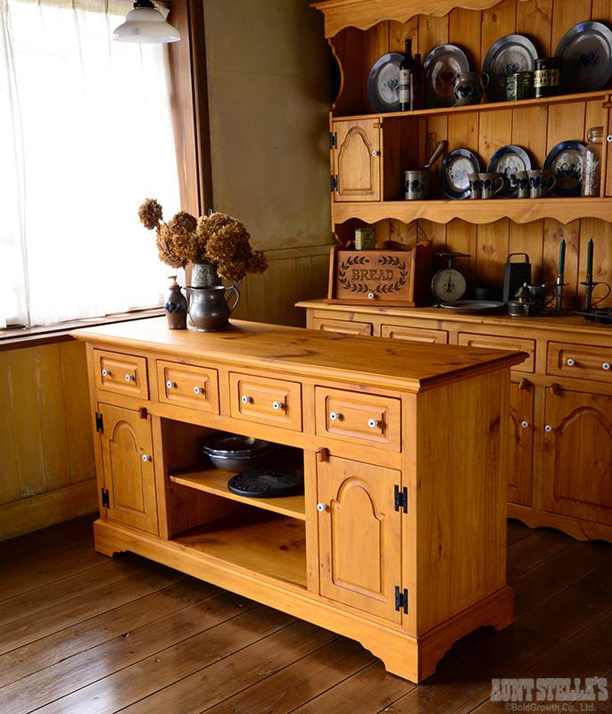 Kitchen Counter L キッチンカウンター(L)