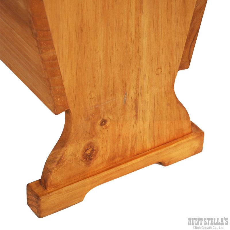 Table With Magazine Stand マガジンスタンド付きテーブル