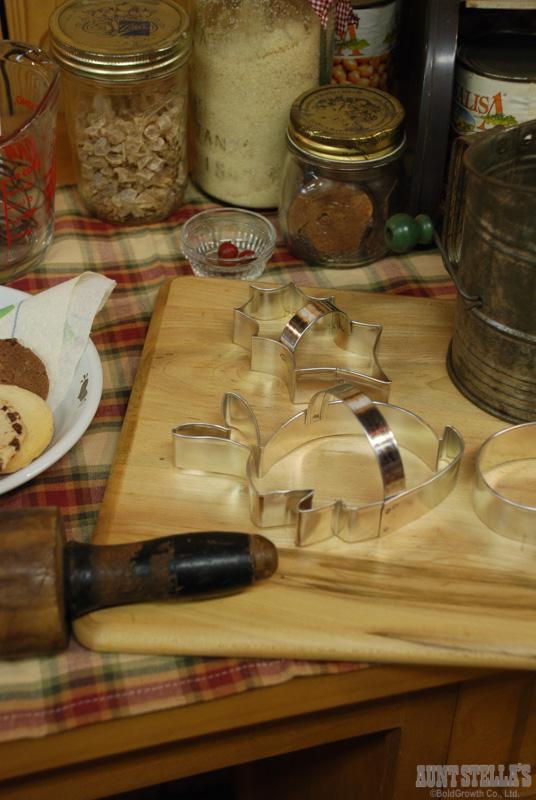 トラディショナルクッキーカッター(ホリーリーフ)