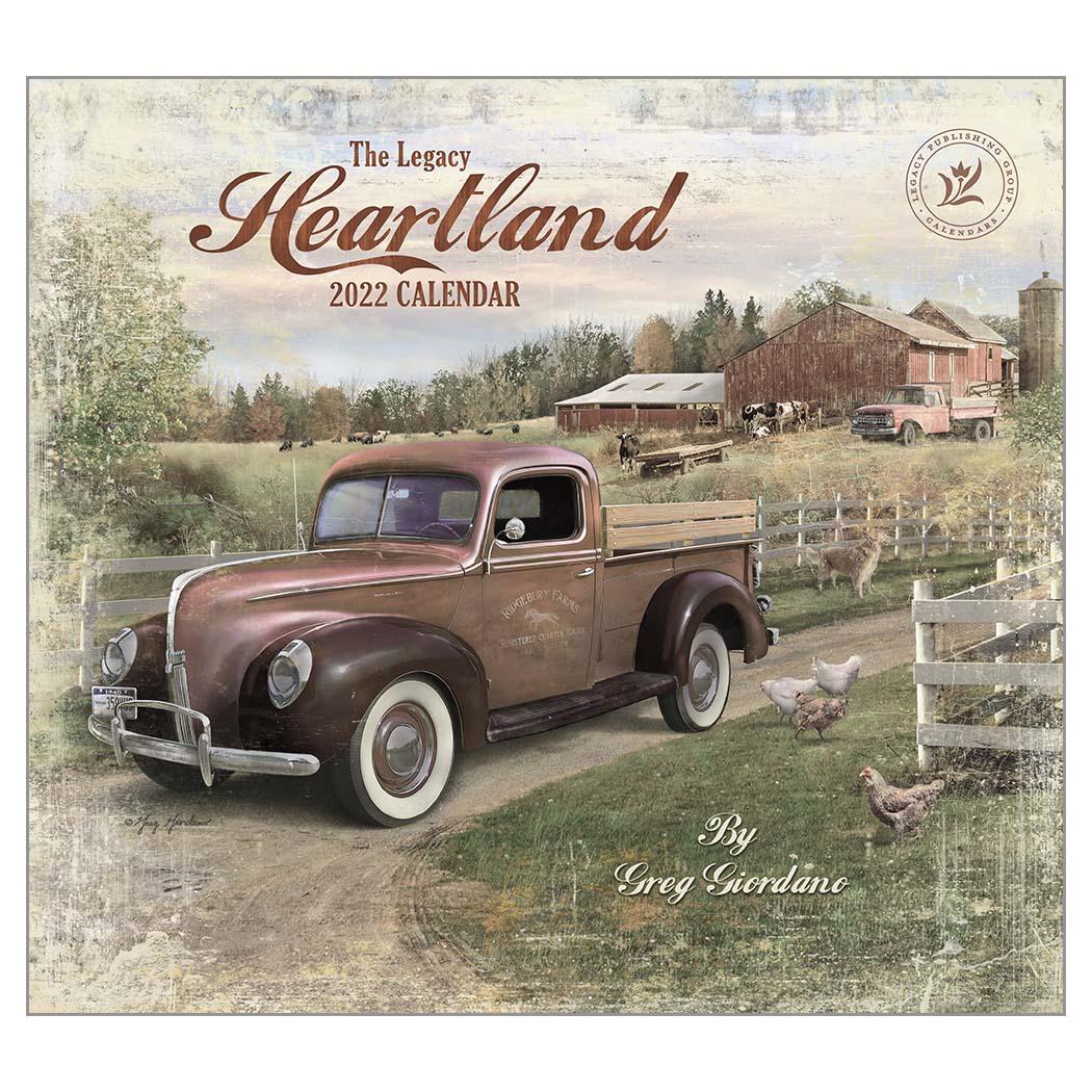 2022 HEARTLAND ウォールカレンダー