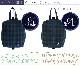 【プチオーダー】 ファスナー付きシューズケース 【ブラックウォッチ】  イニシャル/お名前刺繍 FSB-ORD02