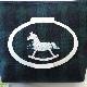 【抗菌・制菌】 木馬とブラックウォッチ柄のシートポーチ CP-BWHORSE