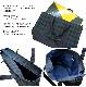 ブラックウォッチ柄のファスナー付きレッスンバッグ 【リボン】スケッチブックサイズ NF-LSB-BW01