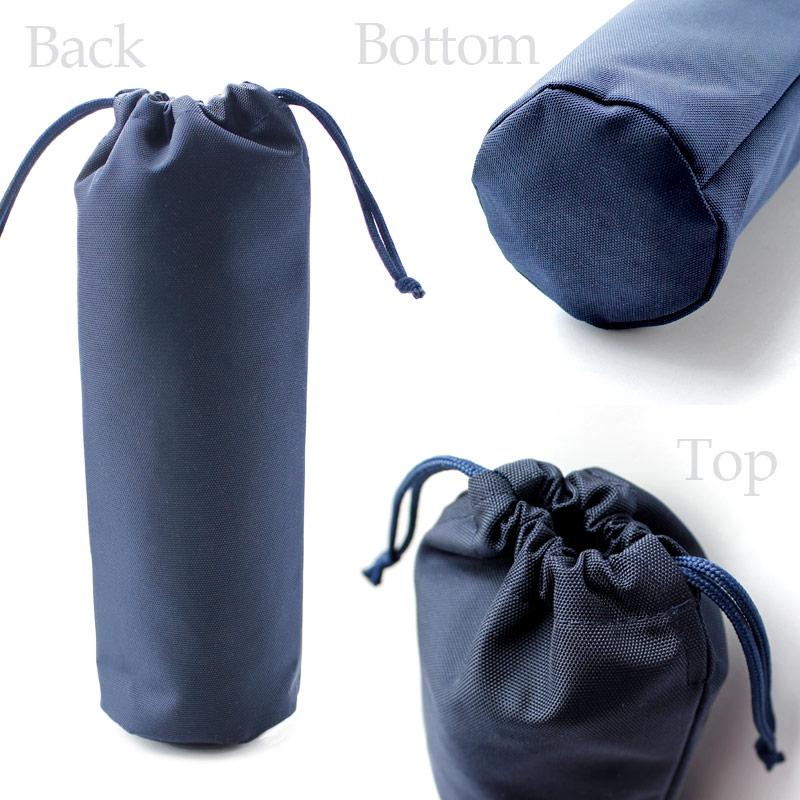 ナイロンのペットボトルケース【ボーダーリボン】PBC-BD01