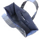 自立型レッスンバッグ フラワーリボン刺繍 【ネイビー】 NY-LSB-RF01