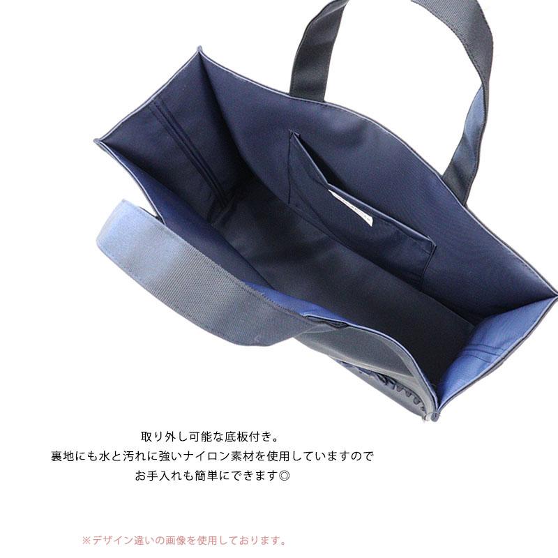 オーガンジーフリルとクロスリボンの自立型ナイロンサブバッグ 【3color】 NY-MB-CR01
