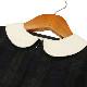 サンプル品 40%OFF 【carinissimo カリニッシモ】 ブラックウォッチ前あきワンピース 115cm SPLCA03