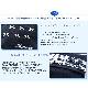 【プチオーダー】 リボンとお名前刺繍の濃紺miniティッシュケース 【ホワイトレース&ステッチリボン】<ミニティッシュ付き> ORD-TK-RI