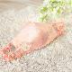 【受注生産品】 リボンレースモチーフのブライダルマスク <ピンク> WD-MSKPI01