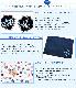 【プチオーダー】 イニシャル刺繍ワッペン付きランチセット【濃紺】 ORD-LCS-CROWN