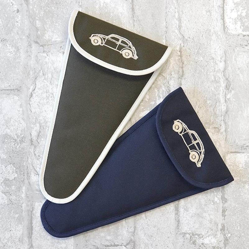 ナイロンの刺繍入りはさみケース【クラシックカー】SC-MS-KK01