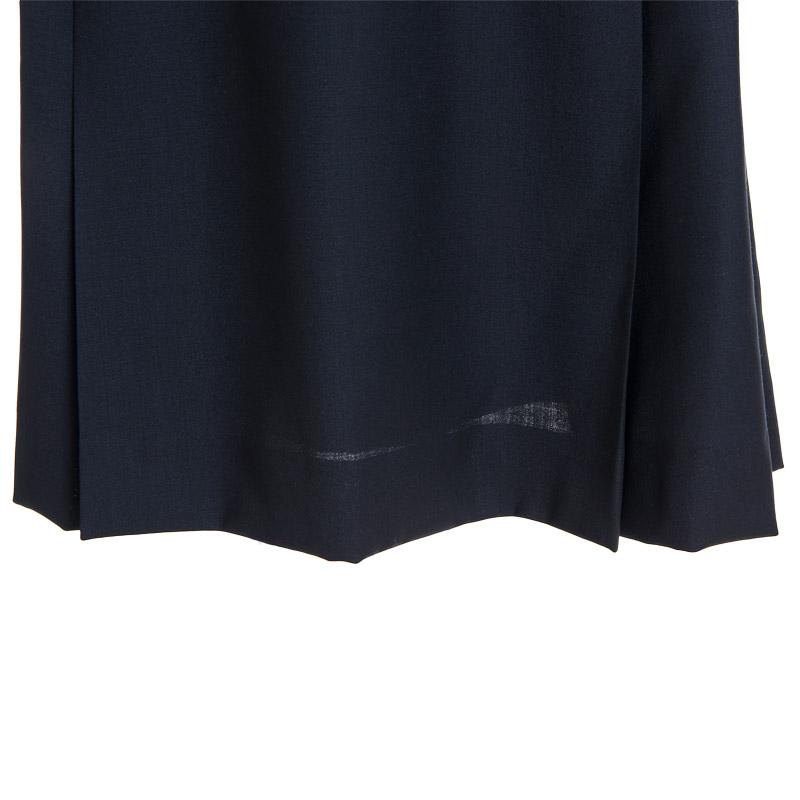 【カリニッシモ】濃紺半袖切替えワンピース KBOP-17-1