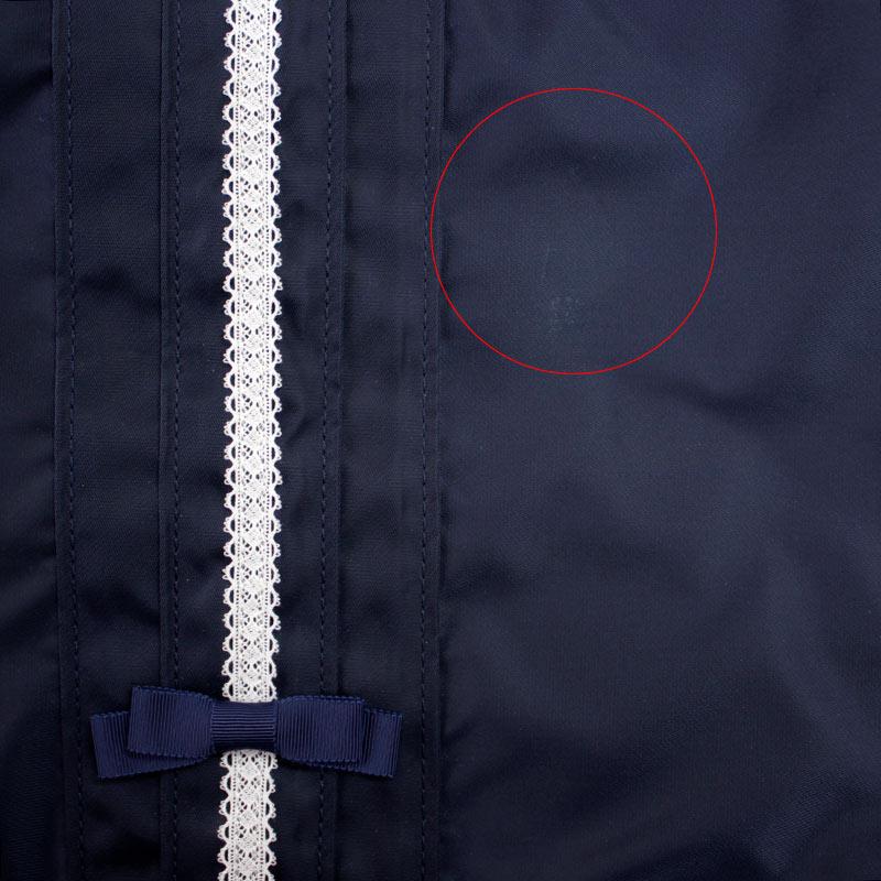 【B品】ナイロンサテンの斜め掛けショルダーバッグ A4サイズ【ピンタック&ホワイトレース】GSL21-PTR04
