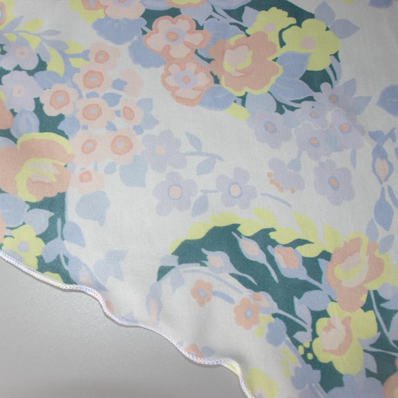 【 foulatelier(フラトリエ)】 花柄プチロングスカーフ