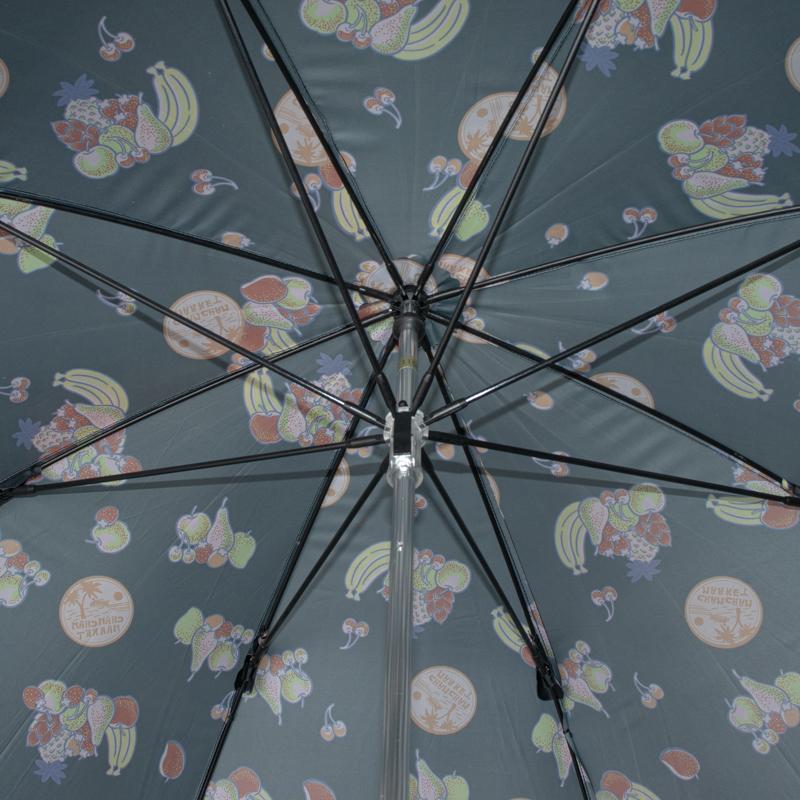 【 CHAMCHAM MARKET(チャムチャムマーケット)】 雨傘(長傘)