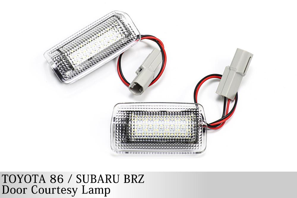 トヨタ 86(ZN6) スバル BRZ(ZC6) LEDドアカーテシランプ 36発LED