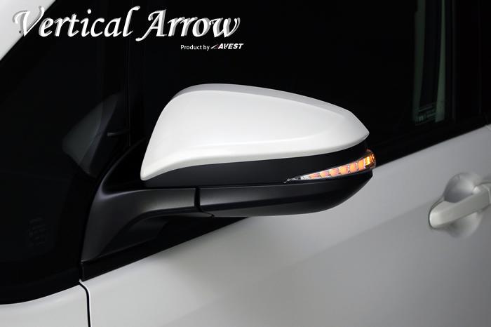 [Vertical Arrow TypeZs]ノア ヴォクシー NOAH VOXY 80系 エスクァイア ESQUIRE ハイブリッド LED ドアミラー ウインカー レンズ