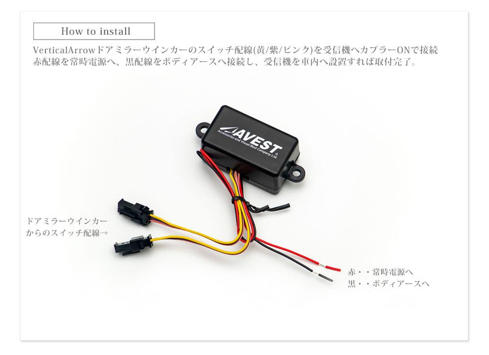 流れる C-HR ウインカー&ルームランプ&ワイヤレススイッチ セット Dark Edition