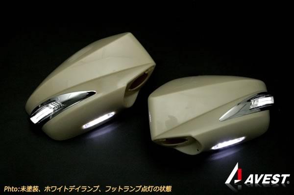 [鮮烈ライトバー][TYPE2]トヨタ 86(ZN6) スバル BRZ(ZC6) LSデザイン ドアミラーウィンカー デイランプ付