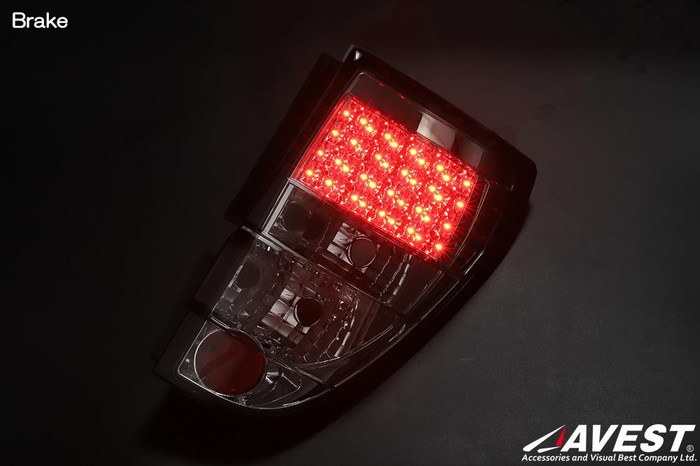 [ゼスト]JE1/2 LEDテールランプ ユーロクリアタイプ[キャンセラ内蔵]