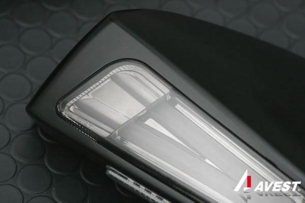 [鮮烈ライトバー][TYPE1]トヨタ 86(ZN6) スバル BRZ(ZC6) ドアミラーウィンカー 限定艶消しブラック
