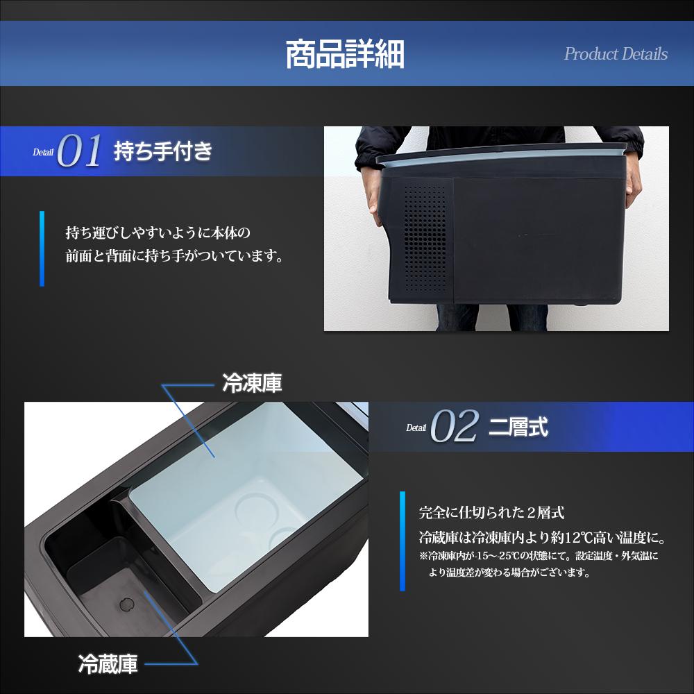 車載用ポータブル冷凍冷蔵庫 バンクシ—モデル
