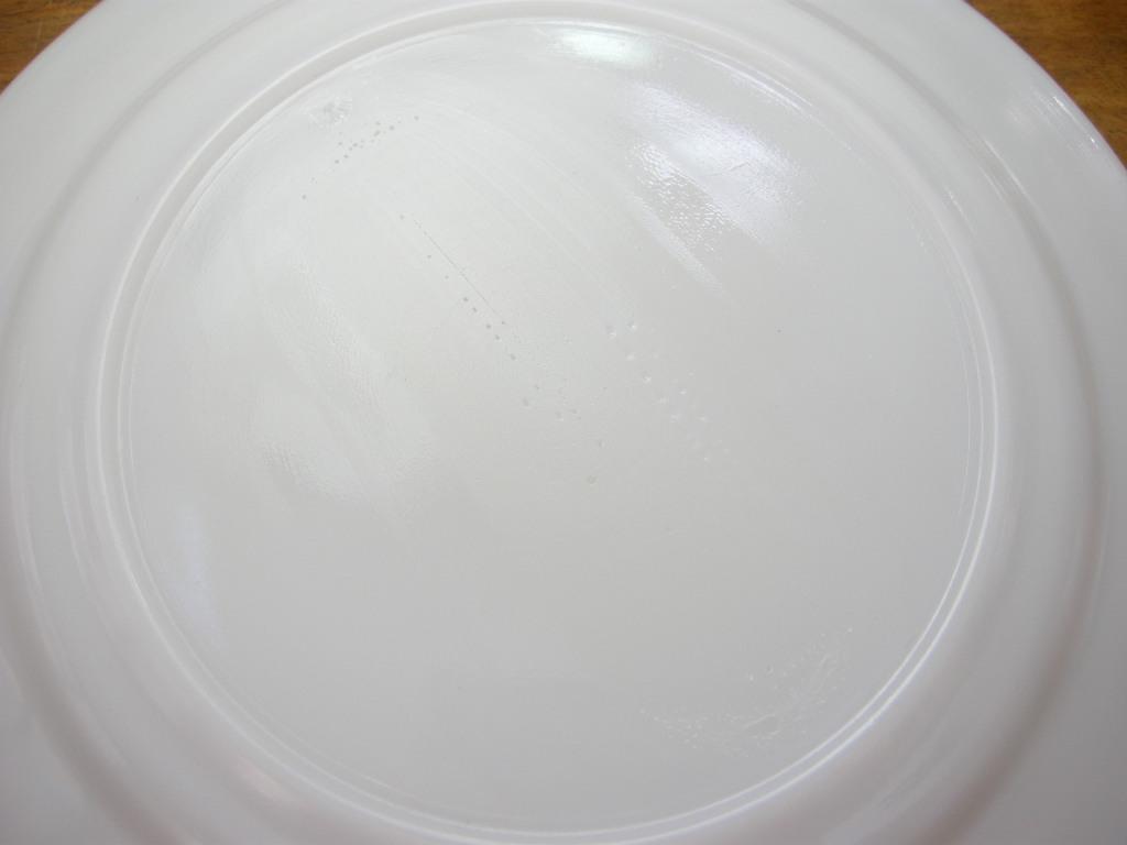 ヘーゼルアトラス モダントーン(ファイヤードオン) ディナープレート イエロー 40s AB No.038