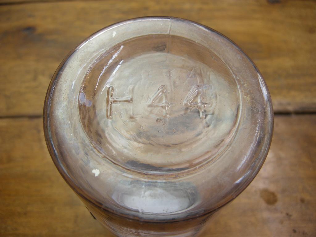 アンティーク ATLAS社 メイソンジャー(1リットル)/パテント1858年 パープル No.001