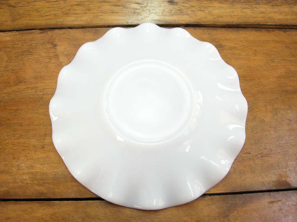 ヘーゼルアトラス リプル カップ&ソーサー つぶつぶハンドル ホワイト 50s A No.059