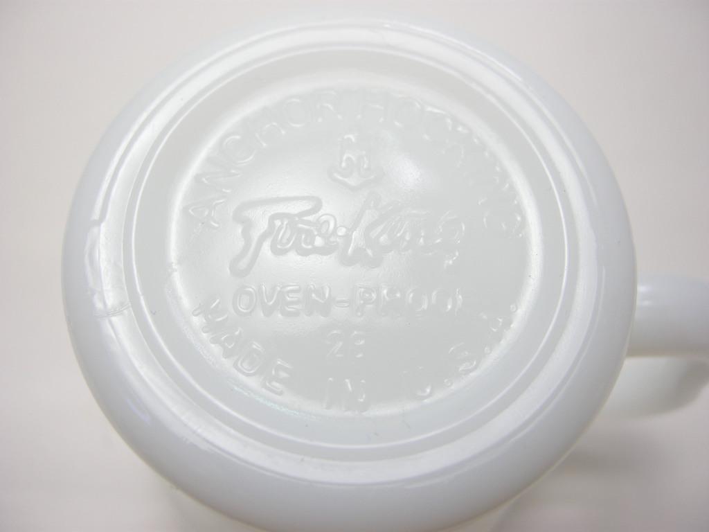 ファイヤーキング ソーダマグ ホワイト 60s A No.026
