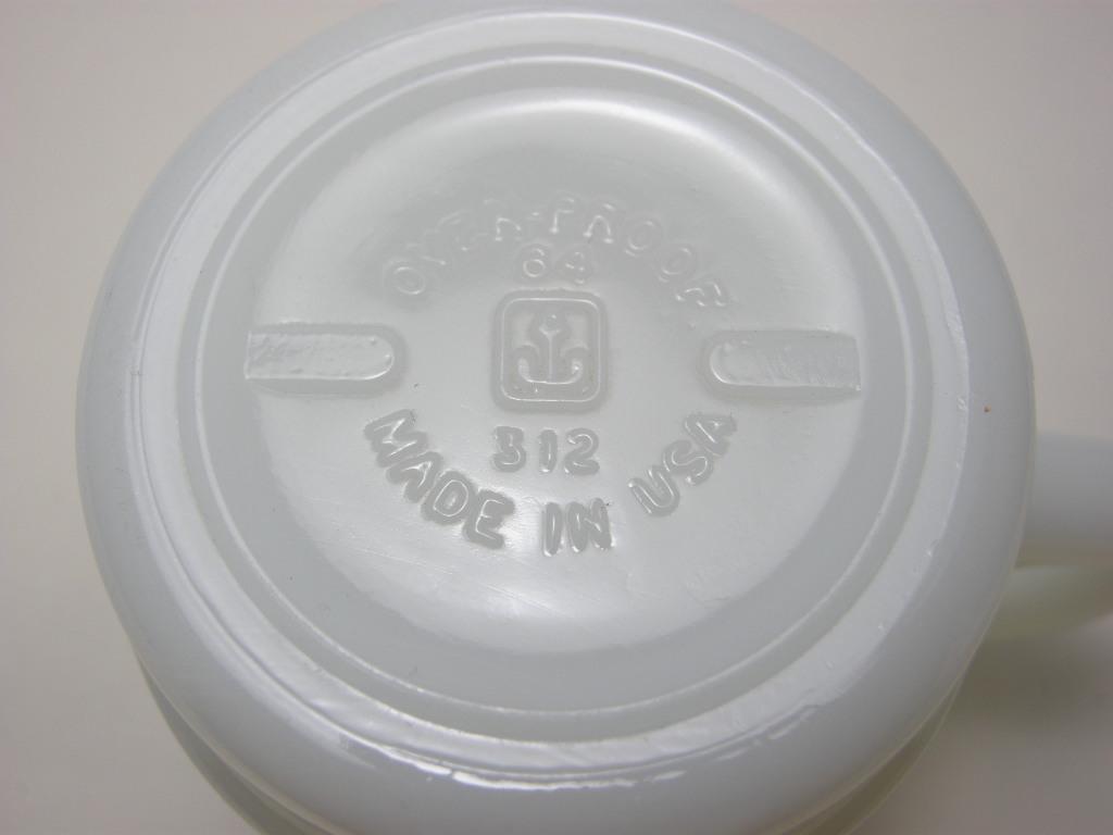 ファイヤーキング プリントマグ ピンウィール  茶色・黄土色 70s A No.004