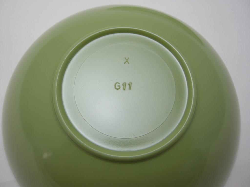 テキサスウェア メルマック ボウル2個/プレート2枚(計4個セット) 若草色 1950年代 No.001 ヴィンテージ・メラミン樹脂製食器