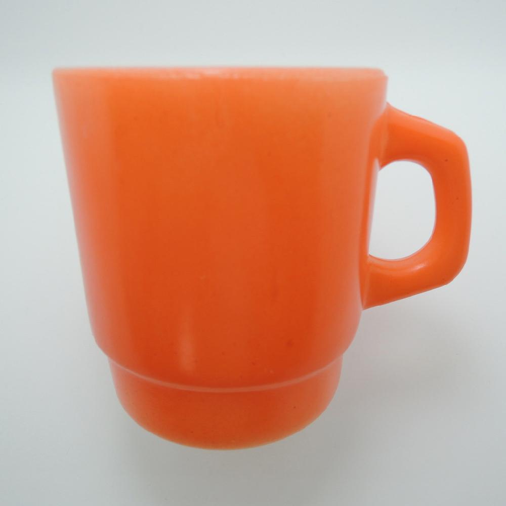 ファイヤーキング スタッキングマグ オレンジ 1960年代 ABランク No.439