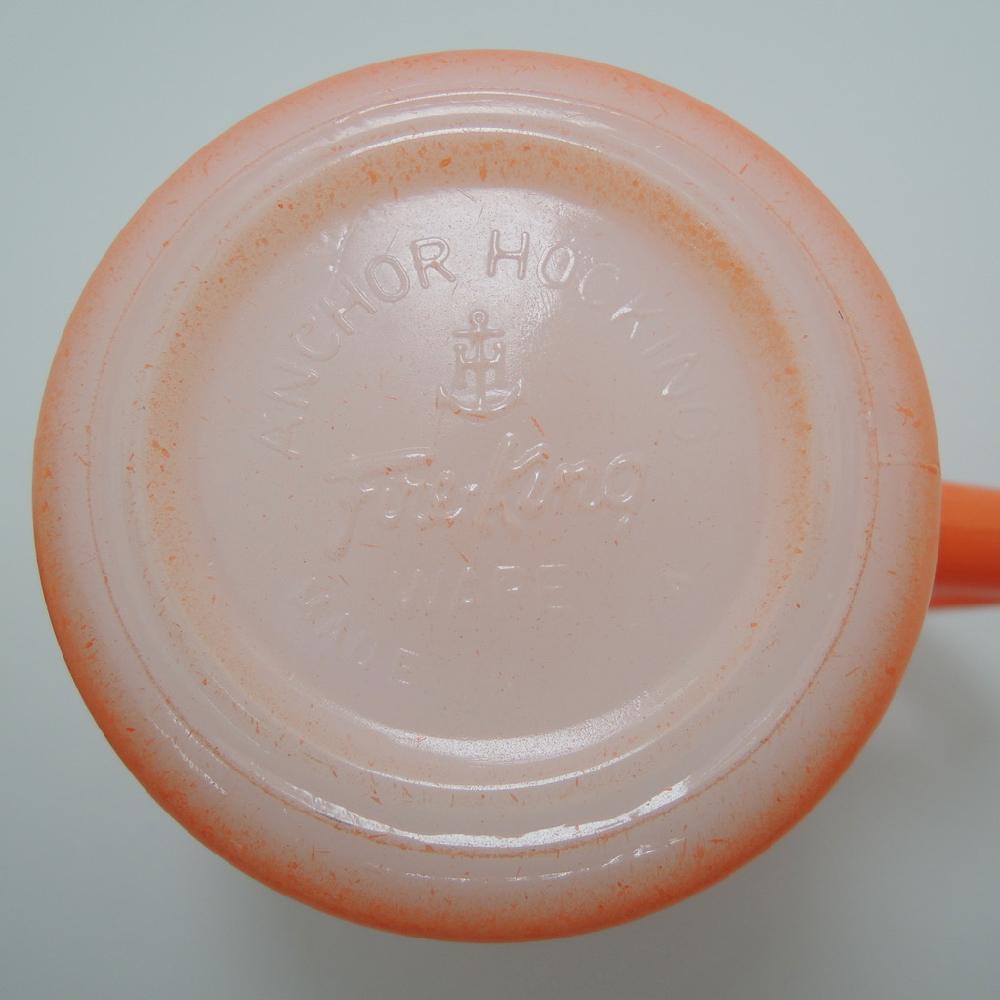 ファイヤーキング スタッキングマグ グラデーション 赤・オレンジ 1960年代 ABランク No.441