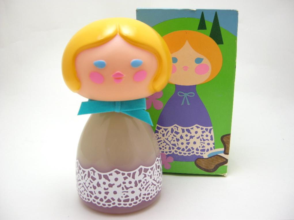 エイボン コロンボトル スモールワールド Heidi/スイス (箱入り) 1970〜72年 A No.006