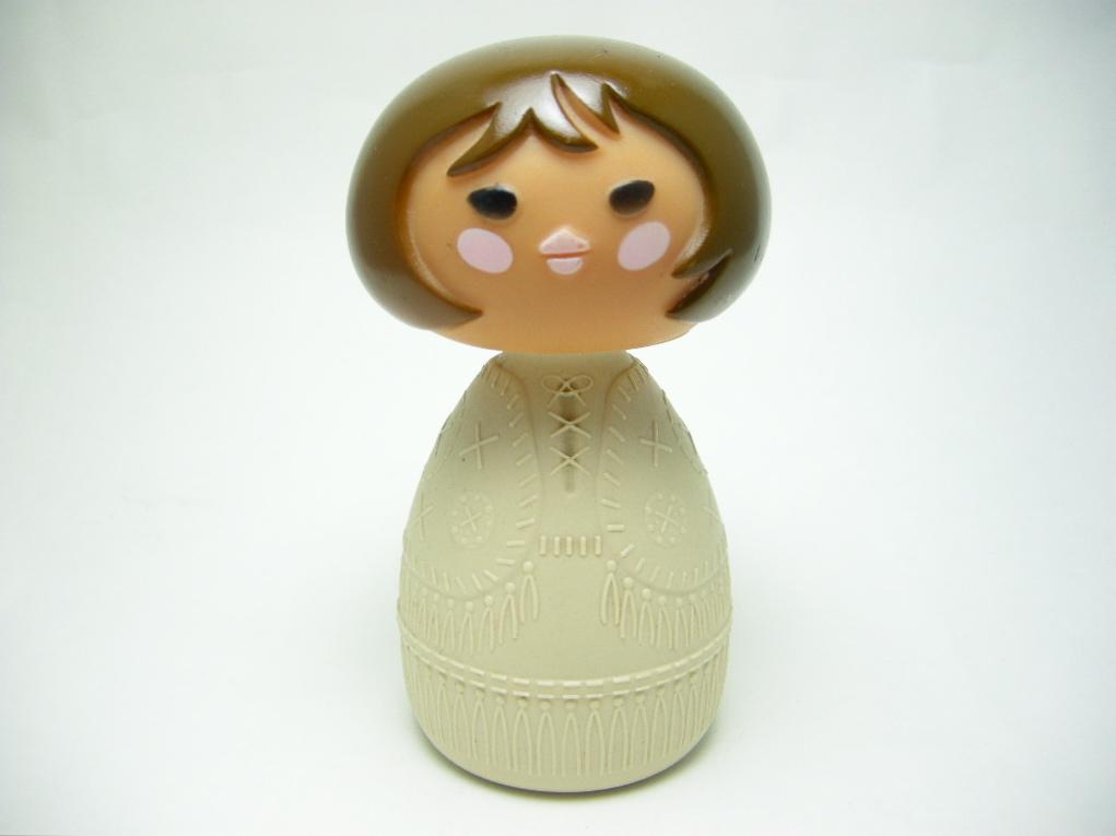 エイボン クリームローションボトル スモールワールド Wendy Cowgirl/アメリカ 1970〜72年 A No.020